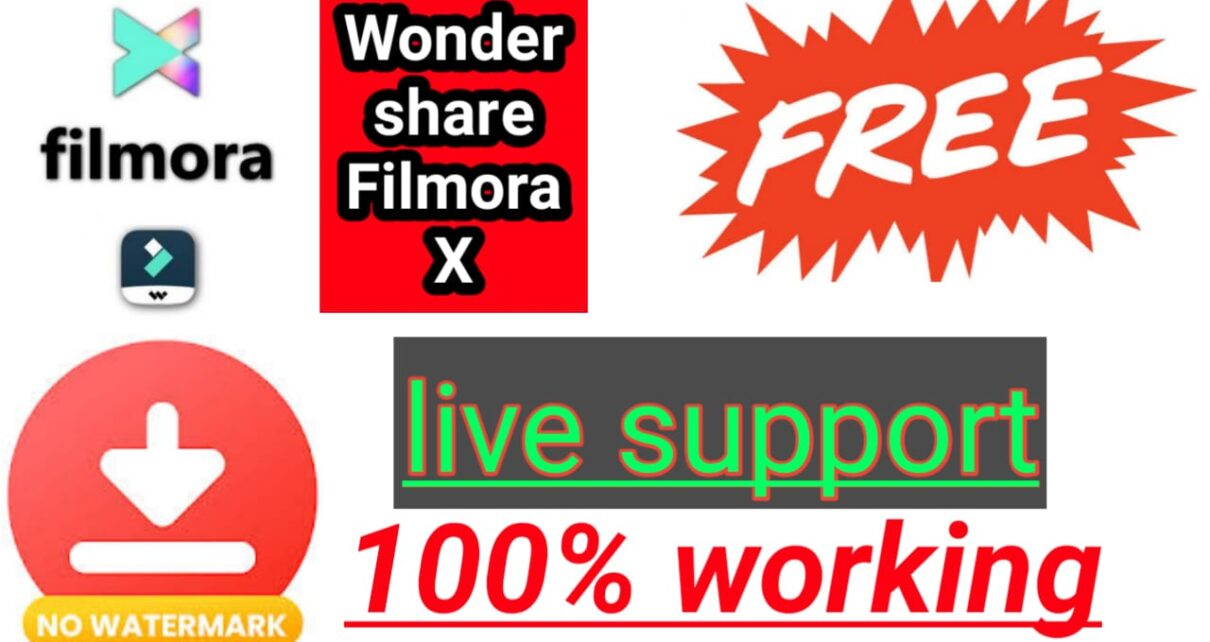download Wondershare filmora x crack without watermark